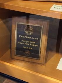 clean award plaque